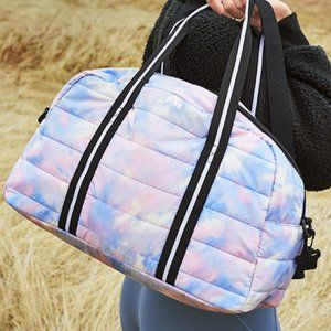 NIP VS Pink Quilted Duffle Weekender Bag